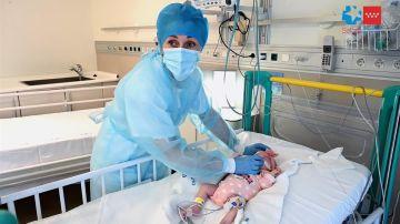 Naiara, la primera bebé en el mundo con un trasplante a corazón parado y grupo sanguíneo incompatible