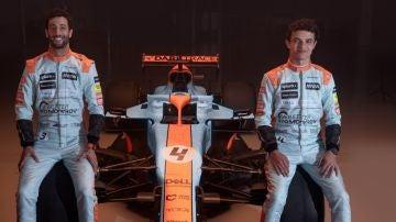 Nuevo 'look' de McLaren para el GP de Mónaco en honor a los colores de Gulf OIl