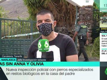 Registran la casa del padre de las niñas desaparecidas en Tenerife con perros especializados en restos biológicos