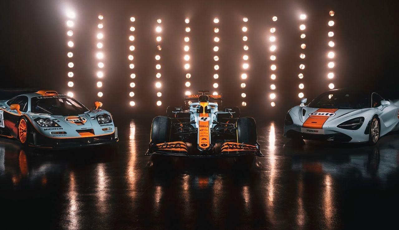 McLaren estrenará colores en su MCL35M
