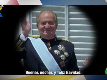 """El 'anuncio' del rey Juan Carlos pidiendo entre risas a los españoles contribuir con sus impuestos: """"Hacienda somos todos"""""""