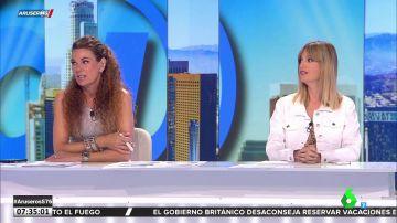 El 'dardo' de Alfonso Arús a Angie Cárdenas en pleno directo a cuenta de las vacaciones