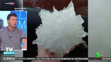 Las impresionantes imágenes del granizo que ha caído en México
