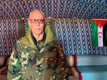 El líder del Polisario, Brahim Ghali