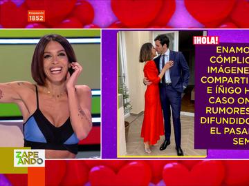 """El análisis de Lorena Castell sobre los rumores de infidelidad de Íñigo Onieva a Tamara Falcó: """"Ojos que no ven, corazón que no siente"""""""