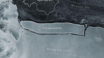 El mayor iceberg del mundo se desprende de la Antártida: es más grande que Mallorca