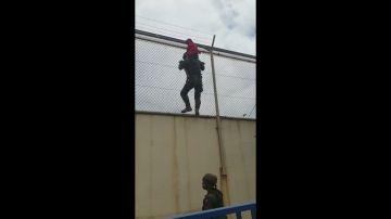 Legionarios rescatan a un niño en Ceuta
