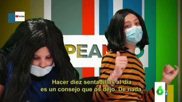 Las divertidas imitaciones de un grupo de niños y niñas de Dani Mateo, Cristina Pedroche, Lorena Castell, Maya Pixelskaya y Valeria Ros