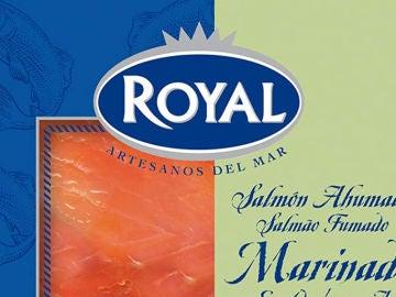 Alertan de la presencia de listeria en un lote de salmón ahumado marinado marca Royal