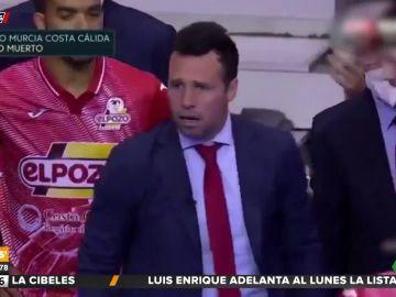 """La intensa charla del entrenador de ElPozo Murcia a los jugadores: """"A la mierda la pizarra y las fichas"""""""