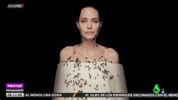 El motivo por el que Angelina Jolie ha cubierto su cuerpo de abejas