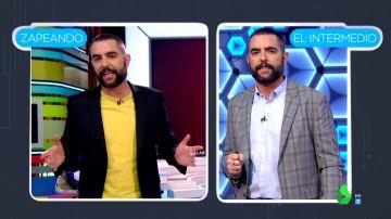 ¿Está Dani Mateo más guapo en Zapeando o en El Intermedio? Los zapeadores debaten sus looks en ambos programas