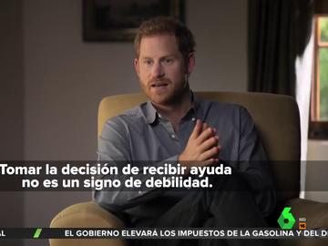 El príncipe Harry desvela que consumió alcohol y drogas para superar la muerte de su madre