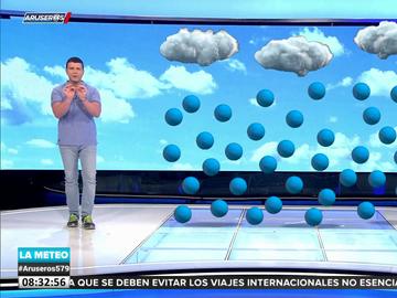 ¿Por qué no se caen las nubes? Marc Redondo lo explica en Aruser@s