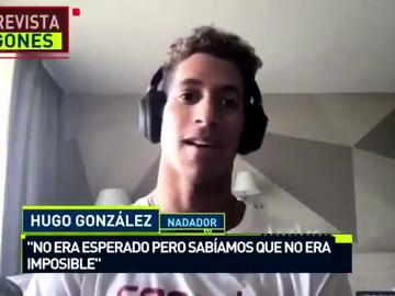 """Hugo González, oro y plata en los Europeos en apenas 60 minutos, en 'Jugones': """"No era esperado"""""""