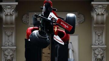 El Ferrari de Fernando Alonso