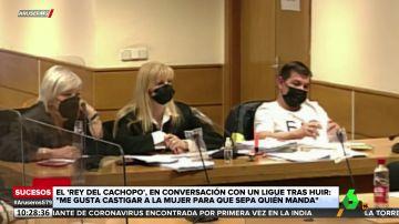 """Las grabaciones del 'rey del cachopo': """"Me gusta castigar a la mujer para que sepa quién manda"""""""