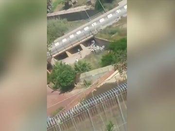 Salto a la valla de Melilla