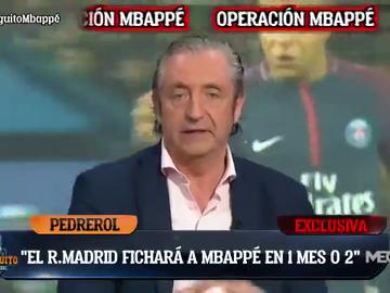 Pedrerol desvela las fechas del fichaje de Mbappé por el Real Madrid