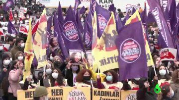 Manifestación en Turquía