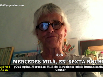 Mercedes Milá, en laSexta Noche