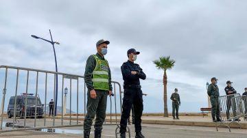 Tranquilidad en la frontera de Ceuta