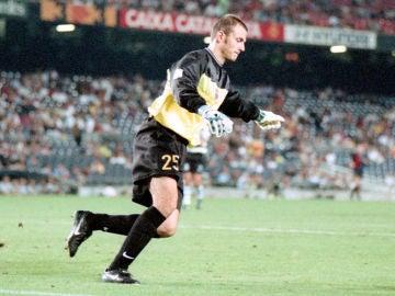 Francesc Arnau, con el Barça