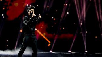 Blas Cantó en el festival de Eurovisión