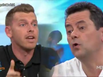 """Brutal cara a cara entre Tomás Roncero y Jota Jordi en 'El Chiringuito': """"¡Tu Messi, de vacaciones!"""""""