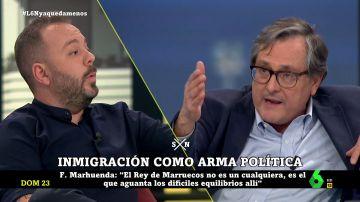 Paco Marhuenda y Antonio Maestre
