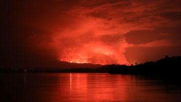El volcán Nyiragongo entra en erupción y arrasa con la ciudad de Goma, en el Congo