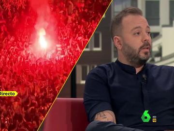 """Antonio Maestre: """"Soy del Atleti, pero jamás se me ocurriría poner en peligro mi vida por ir a saltar"""""""