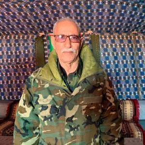 El líder del Frente Polisario