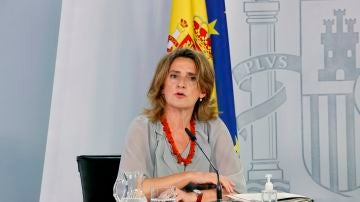 La ministra para la Transición Ecológica, Teresa Ribera