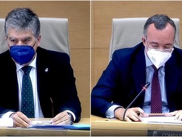 Ignacio Cosidó y Francisco Martínez, ante la Comisión del Congreso por la 'operación Kitchen'