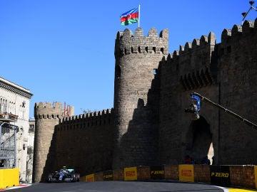 Circuito de Bakú. 2018