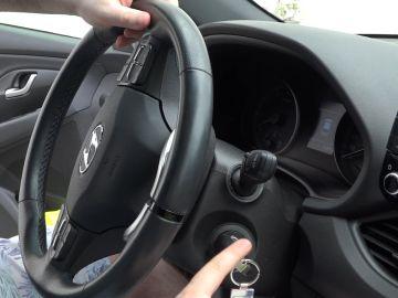 Volante del coche