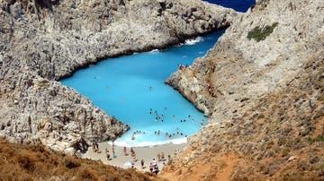 Playa Seitan Limania, Creta
