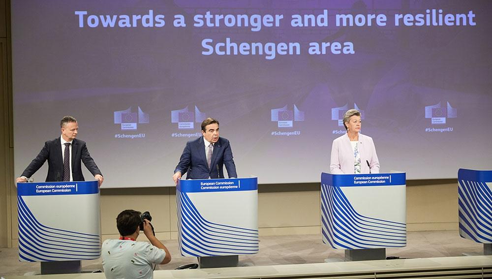 Miembros de la comisión europea