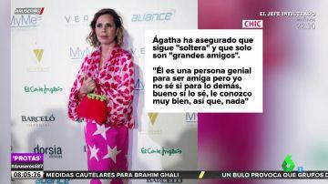 Ágatha Ruiz de la Prada desmiente su reconciliación con 'El Chatarrero'