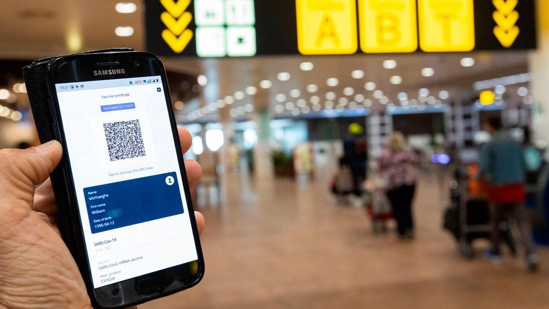 Pasaporte COVID europeo
