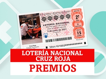¿Qué premios reparte la Lotería Nacional de la Cruz Roja?