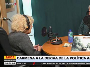"""La reflexión de Carmena sobre la política actual: """"El insulto y la burla son el sistema habitual"""""""