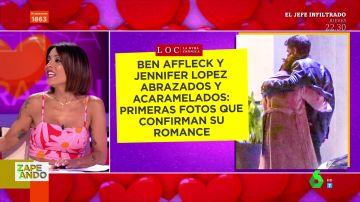 Ben Affleck y Jennifer López: las románticas imágenes abrazados que devuelven la ilusión a Lorena Castell de enamorarse