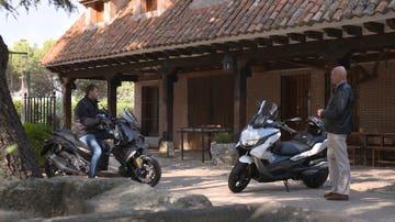 Nuevos scooter de BMW
