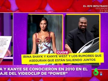 Irina Shayk y Kanye West, ¿juntos? Estas son las pistas sobre su posible romance