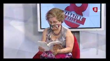 La intervención de Sonsoles en la televisión de Castilla y León
