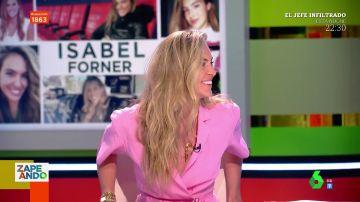 Isabel Forner arrasa en su estreno en Zapeando: así es la joven periodista que habla tanto como Lorena Castell