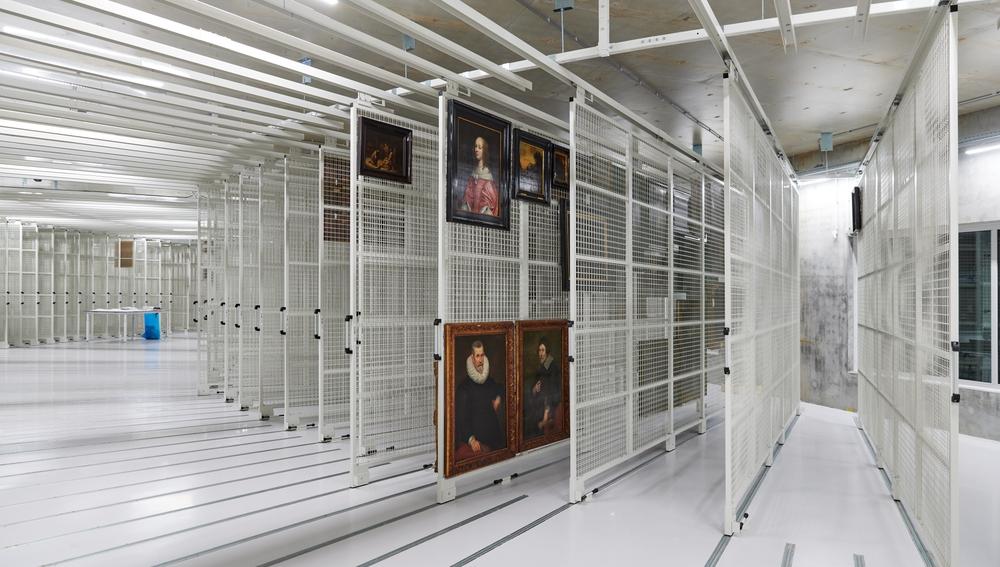 Detalle del interior del museo Boijmans Van Beuningen