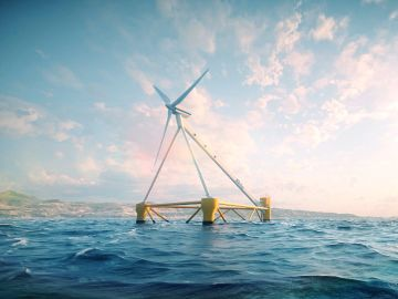 Turbinas que flotan y molinos sin aspas: así son las iniciativas españolas para revolucionar la energía eólica